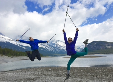 Active by Nature - Nordic walking tours, year-round, in the heart of the Canadian Rockies, Canmore