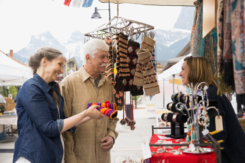 Canmore mountain market - the mountain spirit made tangible 4