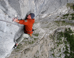 Multi pitch climbing in Canmore Kananaskis 2
