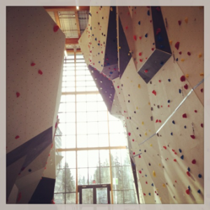 Elevation Place climbing gym