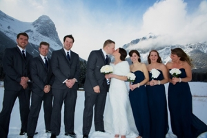 Winter mountain weddings - photography tips