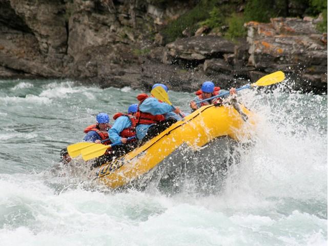 Chinook Rafting 1