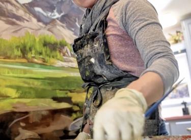 Mountain Muse: En Plein Air Landscape Painting