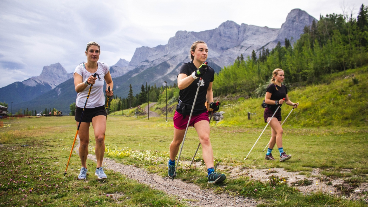 Experience Nordic Walking in Canmore 4