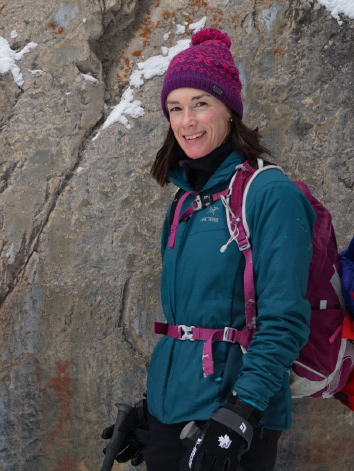 Laura Dowling - Director/Guide of Canadian Rockies Experience