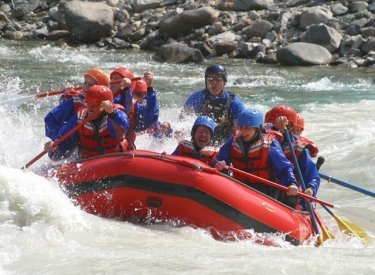 Canadian Rockies Rafting