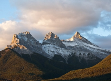 Three Sisters Mountains 1