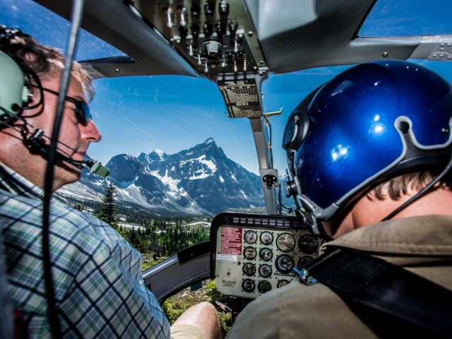 Alpine Helicopters - Canmore Base