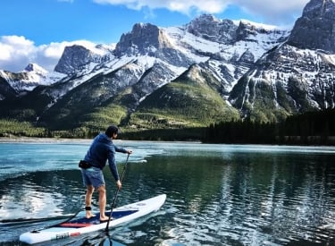 Bow Valley Stand Up Paddleboarding