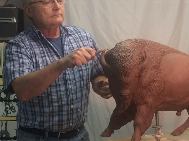Artist Demo: Tom Hjorleifson Bronze Sculptor