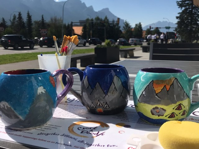 Crock A Doodle Canmore