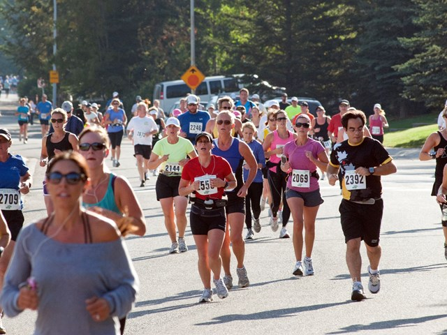 Canmore Rocky Mountain Half Marathon, 10KM & 5KM
