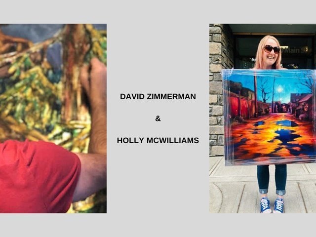 David Zimmerman and Holly McWilliams - Live Demo
